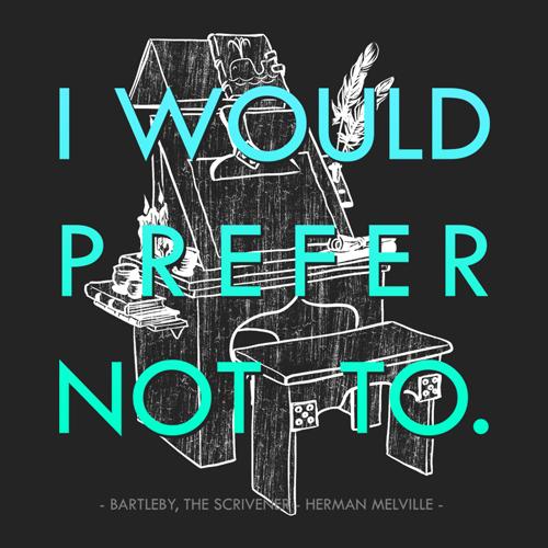 Art: Melville - Bartleby, the Scrivener